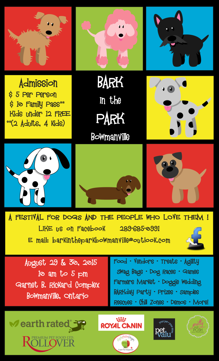 BARK in the PARK Flyer