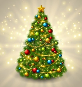 32542378-christmas-tree-with-colorful-baubles-and-gold-star-on-the-top-vector-illustration-glowing-festive-ba